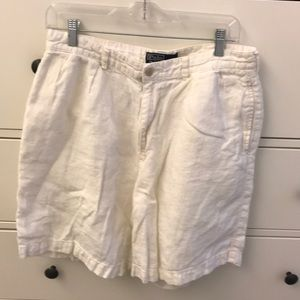 """Men's 34"""" linen Polo shorts"""